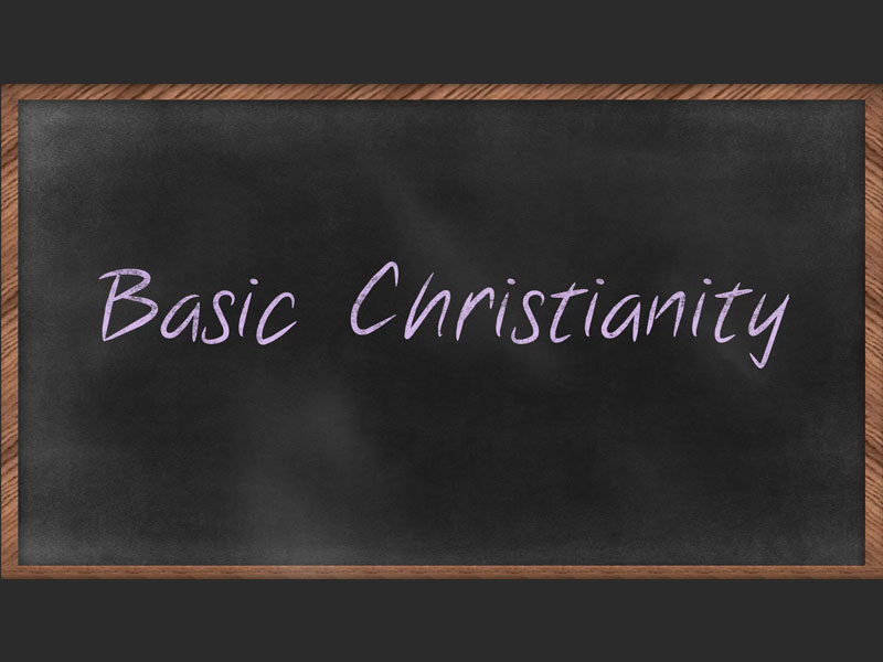 Basic Christianity - Justification